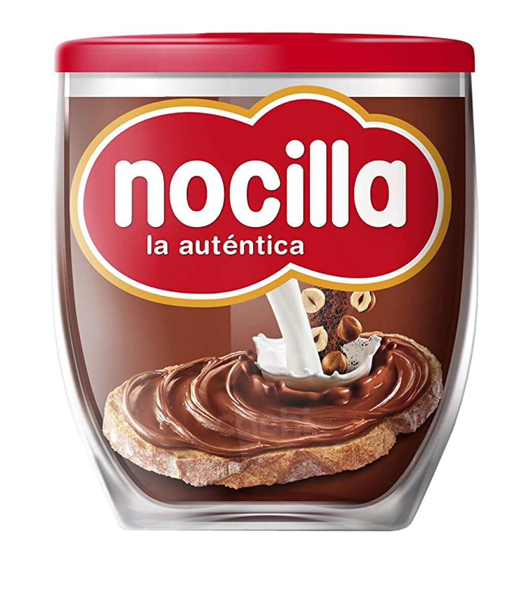 Nocilla Pasta De Avellanas Con Chocolate Tipo Nutella 200gr Hazelnut Spread With Cocoa Encontralo En Cachi
