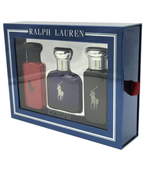 perfume ralph lauren cofre polo red blue black
