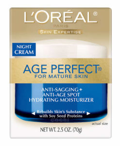 Crema Loreal Age Perfect Noche 70gr USA