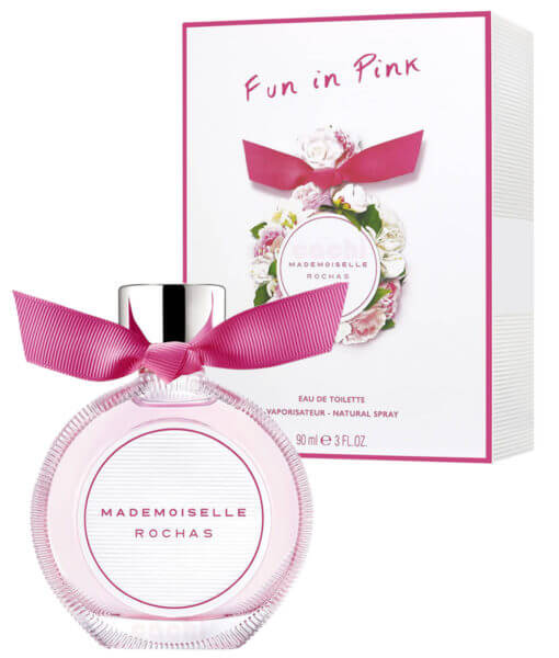 Perfume Mademoiselle Rochas Fun In Pink edt 90ml