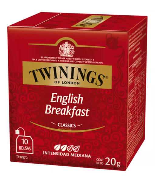 Te Twinings English Breakfast Caja x 10 Sobres
